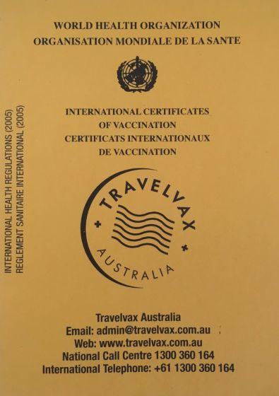 Vaccination (Yellow Books) Record Books