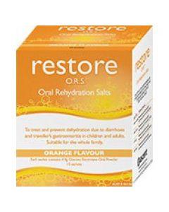 Gastrolyte/Hydralyte or similar Oral Rehydration Salts