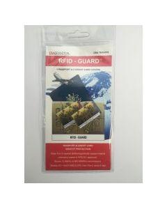 RFID blocking passport (1) & credit card sleeves (2 pack)